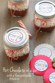 hot chocolate gift ideas a cup of cheer free printable tag