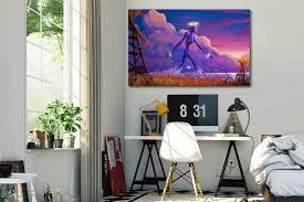 tableau chambre tableau pour chambre ado géant de métal izoa