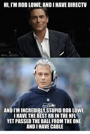 Cable Meme - hi im rob lowe andi have directv memes and im incredibly stupid