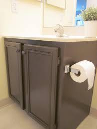 painting bathroom cabinets brown interior design