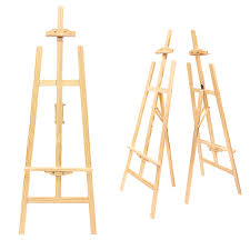wooden easel stand sprinkie
