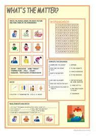 67 free esl health worksheets for beginner pre a1 level