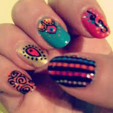 26 fancy indian nail art u2013 slybury com