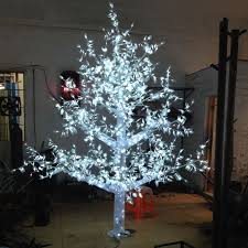 get cheap artificial white tree with led lights aliexpress
