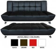 red faux leather sofa foter