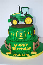 deere cake toppers deere theme cake 2d tractor and cake
