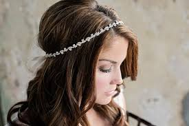 thin headbands rhinestone wedding headband thin diamond bridal