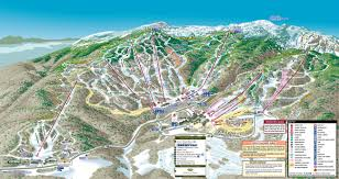 Colorado Mountain Map by Stowe Mountain Resort Trail Map
