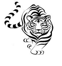 tiger tattoo designs on shoulder