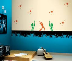 Cartoon Wall Painting In Bedroom Glow Paint Theme Talking Bird Walls Pinterest Kids Rooms