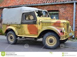gaz 69 off road classic soviet car gaz 69 editorial stock image image of