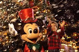 behind thrills celebrate christmas through out walt disney