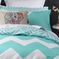 Turquoise Chevron Duvet Cover Marley Aqua Quilt Cover Set By Logan U0026 Mason Planet Linen