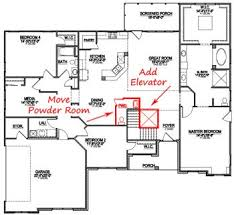 luxury home plans with elevators pretentious design custom home plans wheelchair accessible 15