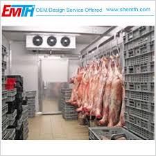 frozen beef meat cold room storage frozen beef meat freezer room