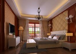 master bedroom interior design with tv wall and wardrobe tv wall