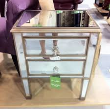 new mirrored nightstand home goods 71 in home decorating ideas