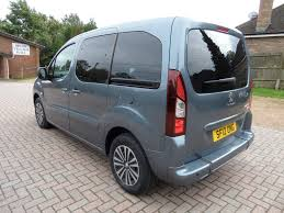 peugeot tepee 2017 used 2012 peugeot partner tepee 5 seat winch wheelchair access car