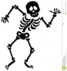 dancing halloween skeleton background dancing skeleton silhouette royalty free stock photography image