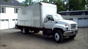 2000 gmc chevrolet c6500 24 foot box truck cat diesel youtube