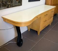 1950 Bedroom Furniture 1950 U0027s Blonde Art Deco Style Bedroom Desk For Sale At 1stdibs
