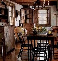 primitive decorated homes nice primitive style dinningroom i love vintage cupboards with