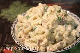 pasta salad with tuna deep south dish old fashioned tuna macaroni salad