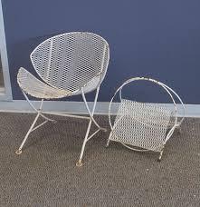 Mid Century Outdoor Chairs Mid Century Modern Salterini Patio Furniture Ebth