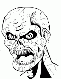 Halloween Monster Coloring Pages by Creepy Doll Coloring Pages Kids Coloring