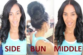 best way to sew in a weave for long hair the two part versatile weave flip over sew in youtube