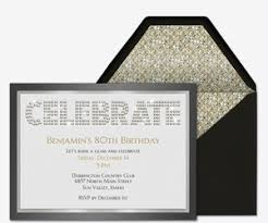 free birthday party invitations for him evite com