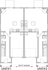 house plans two story narrow lot duplex house plans two story duplex house plans