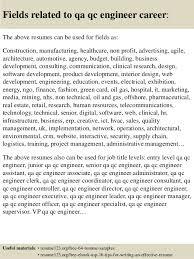 Quality Control Sample Resume by Qa Qc Civil Engineer Resume Pdf Contegri Com