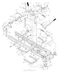 murray 465306x31a lawn tractor 2004 parts diagrams