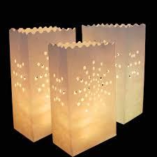 online shop 20pcs lot romantic lantern paper candle bag outdoor