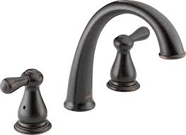 delta t2775 ss leland roman tub trim stainless bathtub faucets