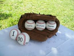 themed guest book guest book table at baseball themed wedding sports roses your