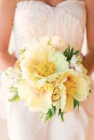Yellow Dresses For Weddings 44 Fresh Peony Wedding Bouquet Ideas Brides