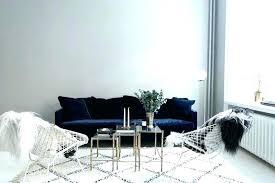 blue velvet sectional sofa royal blue velvet sofa theminamlodge com