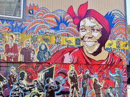 49 of san francisco s most awesome murals mapped 29 professor wangari maathai