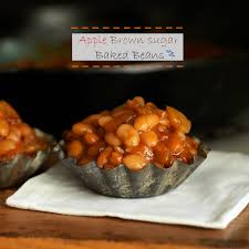 apple brown sugar baked beans simply sated