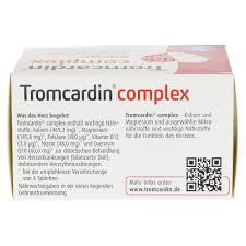 Luitpold Apotheke Bad Steben Tromcardin Complex Tabletten 120 Stück Online Bestellen Medpex