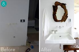 Small Bathroom Makeovers Before And After - small bathroom makeovers 10 incredible transformations curbly