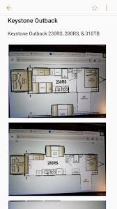 Keystone Trailers Floor Plans by 100 Outback Floor Plans 2017 Keystone Outback 333fe Travel