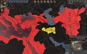Black Death Map When You Survive The Black Death Crusaderkings