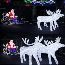 Outdoor Christmas Decorations Sleigh by Lighted Outdoor Sleigh Lighted Outdoor Sleigh Suppliers And