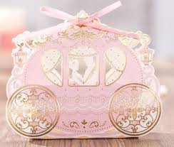 engagement party favors princess carriage favor candy box chocolate bomboniere wedding