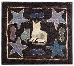 Rug With Stars 108 Best Antique Hooked Rugs Images On Pinterest Penny Rugs