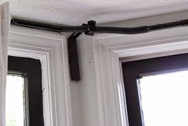 bay window curtain rods ikea home design ideas