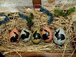 primitive easter eggs primitive easter bunny egg gourd ornaments 2